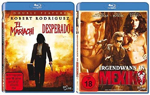 Desperado & El Mariachi + Irgendwann in Mexico / 3 Filme [Blu-ray Set]