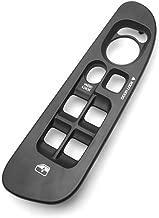 Window Switch Bezel for 2002-2005 Dodge Ram 1500 2500 3500 Quad Cab - Replace OE 5HZ71WL5AE 5HZ71WL5AD 5HZ71XDVAE, Driver Side Window Door Lock Switch Cover Panel Trim (Black)