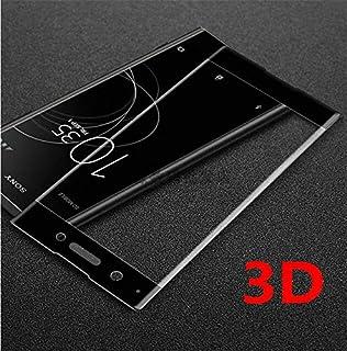 حقائب الهاتف - لطبقة واقية الشاشة من الزجاج المقسى المدمجة ثلاثية الأبعاد لهاتف سوني إكسبيريا XZ2 من سوني إكسبريا X بيرفور...