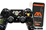 Smart Scary Party PS4 PRO Modded Controller for Rapid Fire FPS MOD Pack Custom Modded Controller for All Major Shooter Games Warzone & More (CUH-ZCT2U)