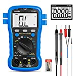 Digital Multimeter Infurider YF-39C 6000 Counts TRMS Auto Ranging Voltmeter Ohmmeter for Accurate AC/DC Volt Amp Ohm Tester with Capacitance,Diode,Continuity,Temperature