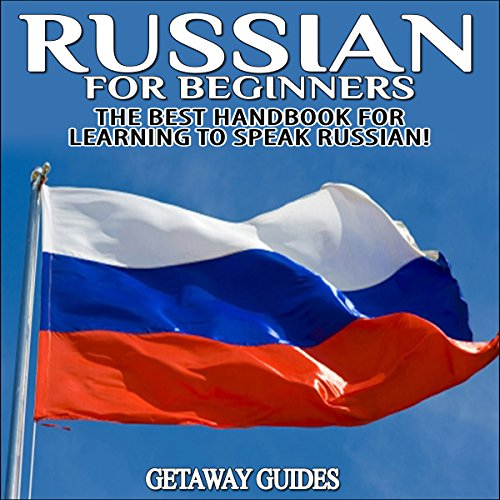 Russian for Beginners audiobook cover art