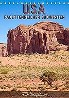 USA Facettenreicher Suedwesten / Familienplaner (Tischkalender 2022 DIN A5 hoch): Eindrucksvolle Naturschauplaetze entdecken (Familienplaner, 14 Seiten )