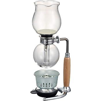 HARIO(ハリオ) 復刻版 コーヒーサイフォン はな HCAF-2 ウッド 実用容量240ml 2杯用