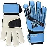 adidas Predator Top Training Fingersave Soccer Goalie Gloves (unisex-adult) Bright Cyan/Black 10