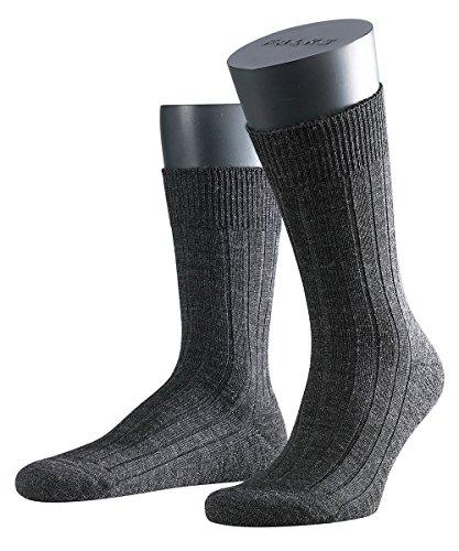 FALKE 3 Paar Teppich i.S. SO im Schuh Socken 14402 Klassiker für kalte Tage, Farbe:Anthrazit Melange 3080, Socken & Strümpfe:47-48