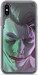 iPhone 6/6s Pure Clear Anti-Shock Case Sensitive Side Joker Harley Comic Quinn