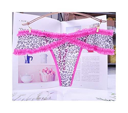 Linyuex Bequeme Thong Gemütliche Lace Briefs G Thongs Unterwäsche-Wäsche for Frauen Angepasst 1pcs (Color : 4, Size : Medium)