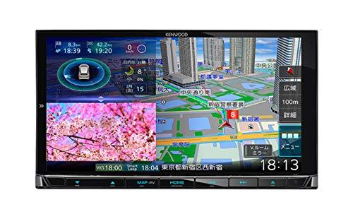 ケンウッド カーナビ 彩速ナビ 7型 MDV-M906HD 専用ドラレコ連携 無料地図更新/フルセグ/Bluetooth/Wi-Fi/A...