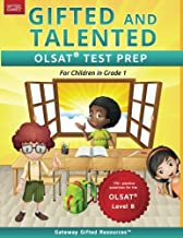 Gifted and Talented OLSAT Test Prep Grade 1: Gifted Test Prep Book for the OLSAT Level B; Workbook for Children in Grade 1 PDF