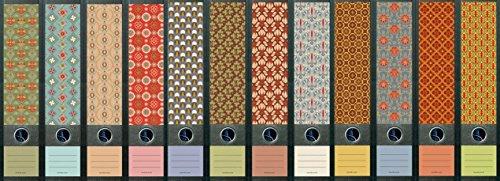 """File Art - Ordnerrücken Design Etiketten - Motiv \""""Pattern\"""" für 12 breite Aktenordner als Kollektion von a-m-w-shop"""