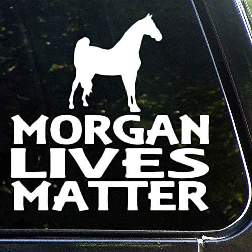 Morgan Lives Matter, adesivo per auto, decalcomania in vinile, decorazione per finestra, paraurti, laptop, pareti, computer, bicchiere, tazza, telefono, camion, accessori per auto lv8mr79l2htx
