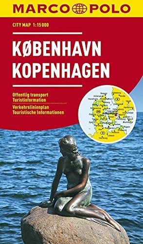MARCO POLO Cityplan Kopenhagen 1:15 000: Stadsplattegrond 1:15 000 (MARCO POLO Citypläne)
