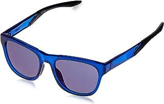 Puma Men's PU0170S PU0170S-004 54 Wayfarer Sunglasses, Blue, 54 mm