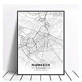 OPBGM Venlo Enschede Tilburg Deventer Niederlande Karte