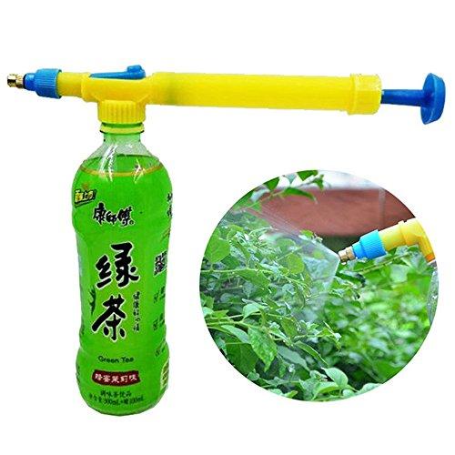 D&B Product 1 Set Mini Juice Bottles Interface Plastic Trolley Gun Water Sprayer Head Pressure Yellow/Blue