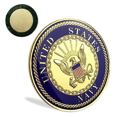 US Navy Car Emblem Auto Decal Military Badge
