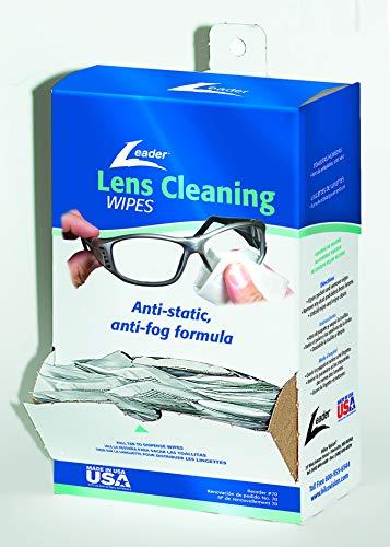 Leader Lens Cleaning Towelette Dispenser Pack of 100