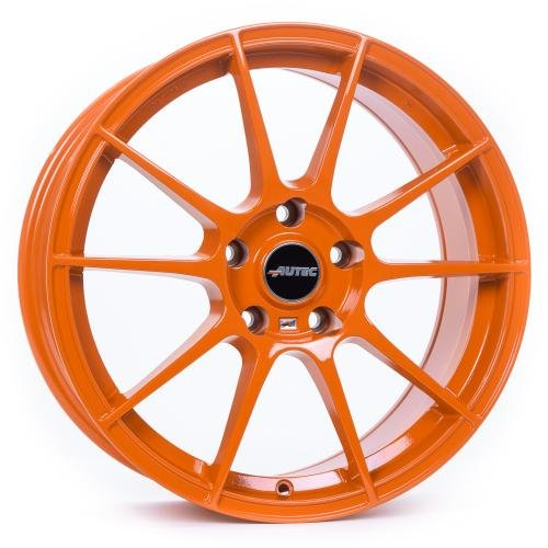 AUTEC Wizard Racing orange 8x18 ET45 5.00x112.00 Hub Bore 70.00 mm - Alu felgen