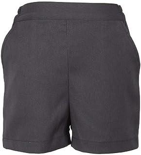 ハッピークローバー 【グレー無地】後ろゴム半ズボン 90cm~130cm shortpants3g