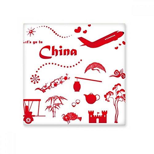 Let 's Go To China Bambus Laterne Pfau Flugzeug Teekanne Baum Keramik Bisque Fliesen für Dekorieren Zimmer Küche Keramik Fliesen Wand Fliesen, sku00173852f12623-M