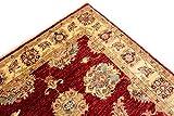 Teppichprinz Chobi Ziegler 147x92 cm Handgeknüpft 150 x 100 Ferahan Wohraumteppich Mamluk - 5