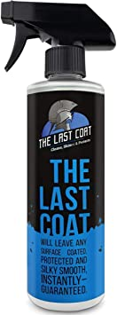 The Last Coat Premium Car Polish, Car Wax, Ceramic Coating for Cars, Water Based Liquid Shiny Coating Protection Detailing, Paint Shine Spray for Easy Use. Care with Top Coat Sealer, 16 oz: image