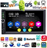 Binize 7 Inch Android 9.1 HD Quad-Core 2 Din Car Stereo Radio Multimedia Player NO-DVD GPS Navigation in-Dash Auto Radio Bluetooth/USB/WiFi DVR (2GB RAM+32GB ROM) (B7918 2G RAM+32G ROM)