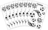 AVERY Zweckform 58228 Fußball Tattoo Set Maxi (Vorteils-Pack) 72 Aufkleber