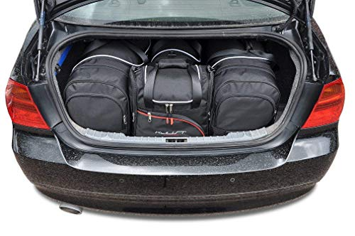 KJUST Kofferraumtaschen 4 STK kompatibel mit BMW 3 Limousine E90 2004 - 2013