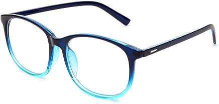 48e5496279c Jcerki Oversize Frame Nearsighted Glasses-1.00 Strength Short Sighted Men  and Women Lightweight Myopia Spectacles