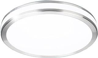 comprar comparacion ZHMA Lámpara empotrada de techo de 32 vatios, Lámpara de techo vaciada de LED, Blanco frío, Panel de luz LED resistente al...