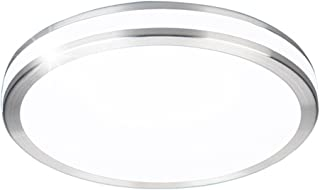 AFSEMOS LED Flush Mount Ceiling Light,13'',32W(170W Incandescent Equivalent),Surface Mounted Downlight,Round LED Ceiling Lights for Bedroom,Living Room,Kitchen,2600lm,Cool White(6000K)