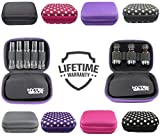 Essential Oil Carrying Case Holds 10 Bottles Perfect for Roller Bottles 5ml - 10ml Multiple Colors!...