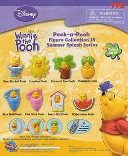 Winnie the Pooh Peek-a-Pooh #14 Summer Splash Capsule Toys Set of 8 vending Toys