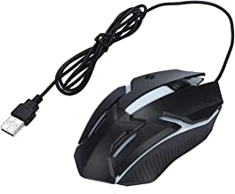 BINGFEI M600 pro Rechargeable Wireless Gaming Mouse Optical LED 2.4GHz Computer Mouse with USB Receiver Silent Click 4 DPI 8 Buttons,Black