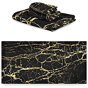 Best black and gold towels Reviews