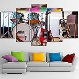 POLLKK 5 Tafelmalerei Modulare Bild Wohnzimmer Hd Gedruckt