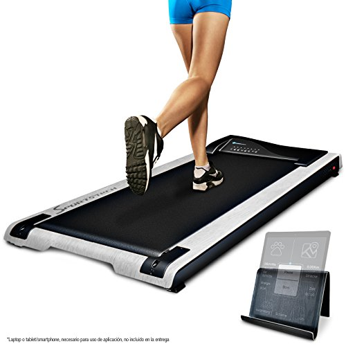 Sportstech Treadmill DESKFIT DFT200 Ideal for Office Desk. Ergonomic work and movement at the same time, without back pain. With practical Tablet Holder, Remote Control by
