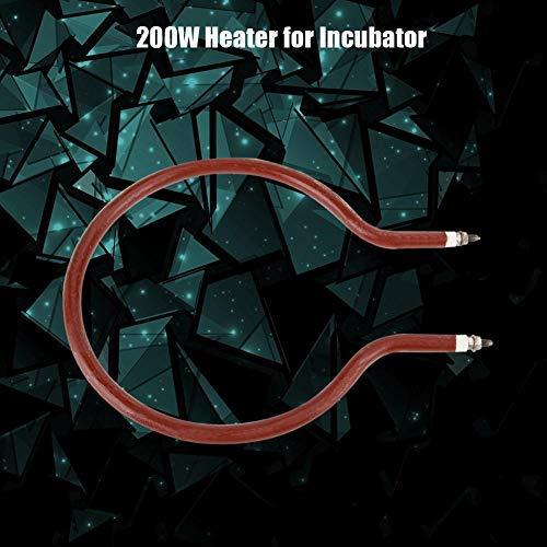 HEEPDD verwarmingsslang voor incubator, 220 V, voor gevogelte, met thermostaat, 200 watt.