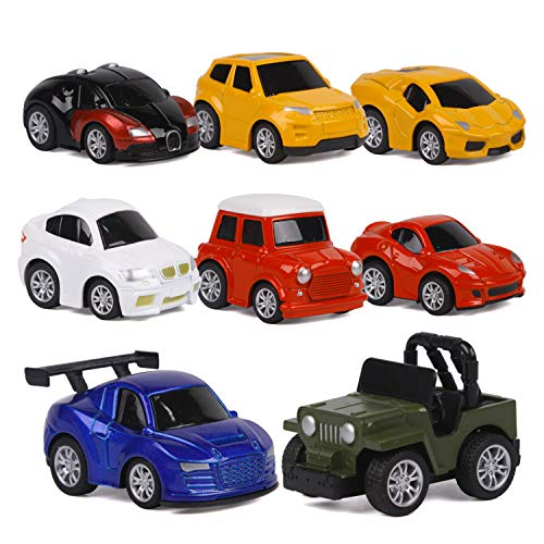 ToyerBee Car Toys-Die-cast Cars and Pull Back Vehicles for...
