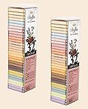 Dolfin Surtido de 32 Carres en Chocolate con Leche y Chocolate Negro 60%, 70% y 88%, en 16 Sabores Diferentes - 2 x 144 Gramos