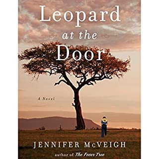 Leopard at the Door audiobook cover art
