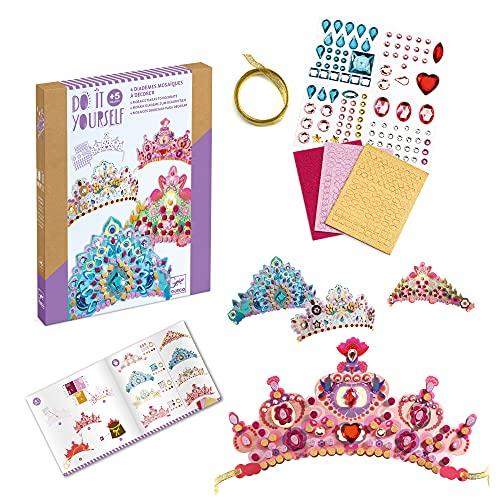 Djeco Diademas para decorar Princesa Haarreif für Prinzessinnen (37901), bunt