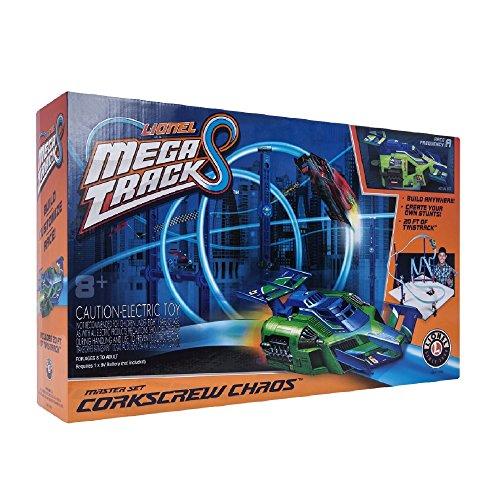 Lionel Mega Tracks Corkscrew Chaos Green Engine