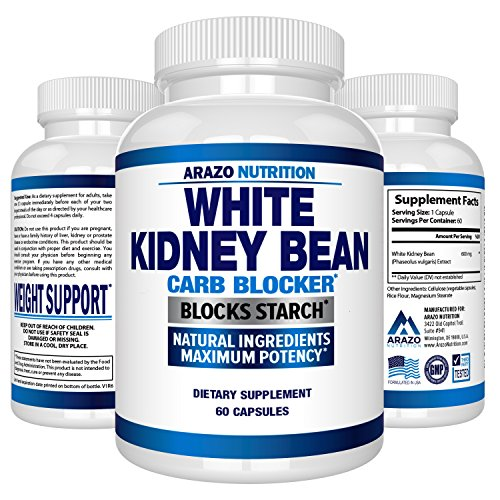 White Kidney Bean Extract - 100% Pure Carb Blocker and Fat Absorber for Weight Loss - Intercept...