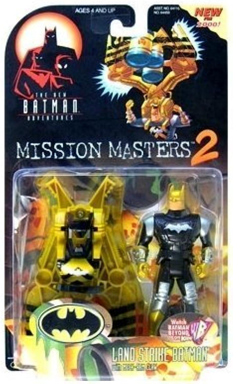 Batman  The New Batman Adventures Mission Masters 2 Land Strike Batman Action Figure by Batman  The New Batman Adventures