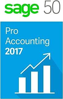 Sage Software Sage 50 Pro Accounting 2017