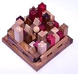 Castle - Burg - 3D Puzzle - Denkspiel - Knobelspiel - Geduldspiel - Logikspiel aus Holz mit vielen...