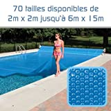 Linxor ® Pool Solarfolie Solarabdeckplane Poolheizung 300 μm Zugeschnittene